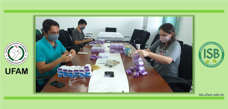 Servidores realizam ações contra a epidemia do novo coronavírus